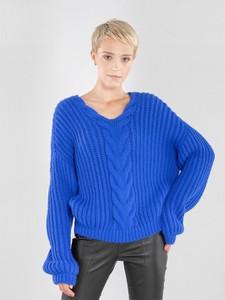 Sweter Ochnik z dzianiny