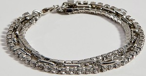 Mohito - Potrójna bransoletka z kryształkami - Srebrny