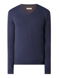 Granatowy sweter Tom Tailor