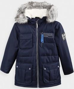 Czarna kurtka dziecięca 4F