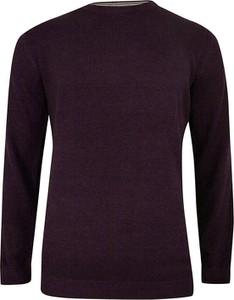 Czerwony sweter Adriano Guinari z bawełny w stylu casual
