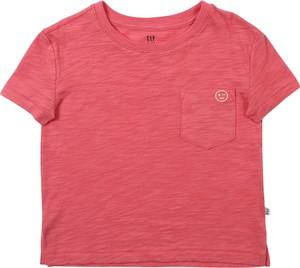 Różowa bluzka dziecięca Gap