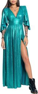 Sukienka ANIYE BY maxi z długim rękawem
