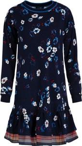 Sukienka My Twin z okrągłym dekoltem w stylu casual mini