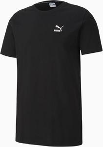 Czarny t-shirt Puma w sportowym stylu