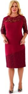 Czerwona sukienka Roxana - sukienki