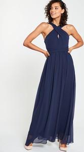 Granatowa sukienka V by Very
