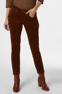 Czerwone spodnie Cambio w stylu casual