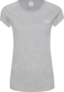 T-shirt BOSS Casual z okrągłym dekoltem z krótkim rękawem z dzianiny
