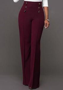 Czerwone jeansy Sandbella w stylu casual