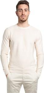 Sweter Gran Sasso w stylu casual z okrągłym dekoltem