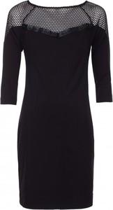 Czarna sukienka VISSAVI w stylu casual