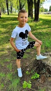 Koszulka dziecięca Kids By Voga z bawełny