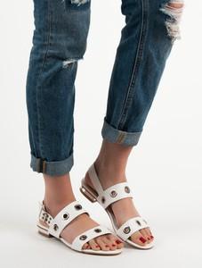 Sandały Czasnabuty z klamrami w stylu casual