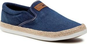 Granatowe buty letnie męskie Cross Jeans