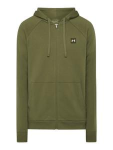 Zielona bluza Under Armour z bawełny w młodzieżowym stylu