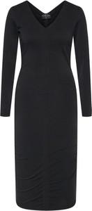 Czarna sukienka Rage Age z dekoltem w kształcie litery v mini dopasowana