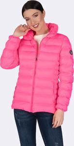 Różowa kurtka Giorgio Di Mare w stylu casual