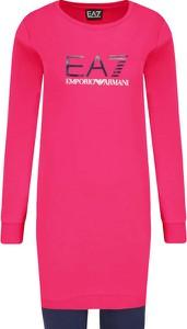 Różowy dres Emporio Armani