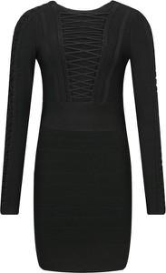 Sukienka Guess by Marciano z długim rękawem mini w stylu casual