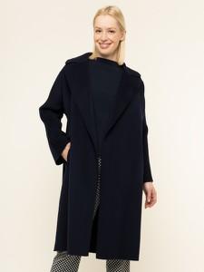 Granatowy płaszcz Weekend Max Mara