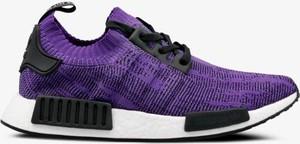 Fioletowe buty sportowe Adidas nmd