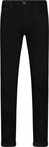 Czarne jeansy Emporio Armani w street stylu