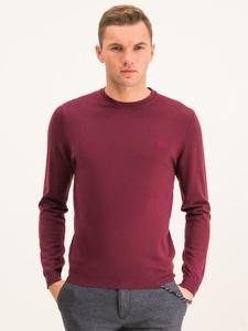 Czerwony sweter Roy Robson