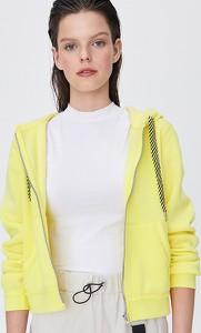 Żółta bluza Sinsay krótka
