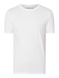 T-shirt Review w stylu casual