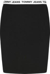 Czarna spódnica Tommy Jeans mini