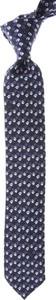 Niebieski krawat Christian Lacroix