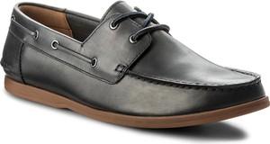 Mokasyny clarks - morven sail 261324737 navy leather