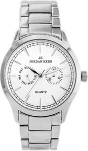 ZEGAREK MĘSKI JORDAN KERR - 50702 (zj095a) - Srebrny