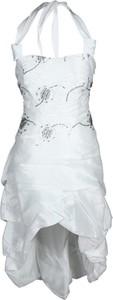 Sukienka Fokus midi bombka z tkaniny