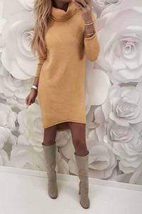 Żółta sukienka Ivet.pl