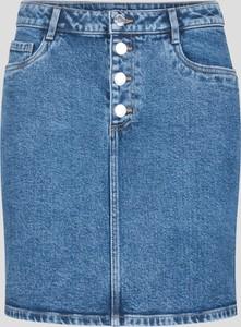 Niebieska spódnica ORSAY