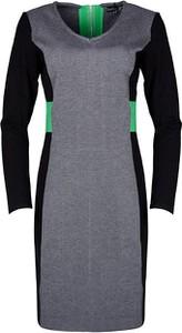 Sukienka Smashed Lemon mini w stylu casual dopasowana