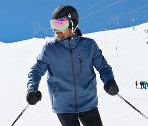 Niebieska kurtka Tchibo z plaru