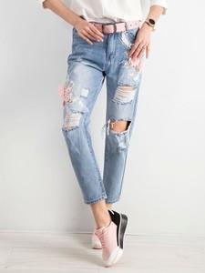 Niebieskie jeansy Factory Price z bawełny w stylu casual