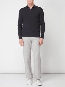 Spodnie McNeal w stylu casual z lnu