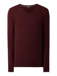 Czerwony sweter Christian Berg Men z kaszmiru