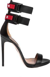 Czarne sandały Dsquared2 z klamrami
