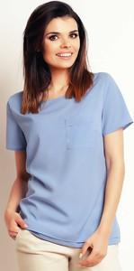 Niebieska bluzka Infinite You