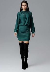 Sukienka Figl z długim rękawem dopasowana