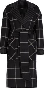 Czarny płaszcz Karl Lagerfeld