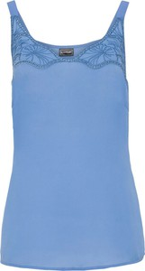 Niebieski top bonprix