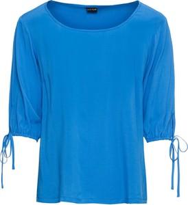 Bluzka bonprix BODYFLIRT z okrągłym dekoltem z krótkim rękawem