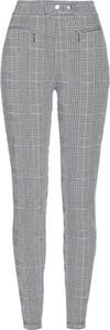 Spodnie bonprix bpc selection z dżerseju w stylu casual