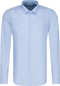 Niebieska koszula Calvin Klein